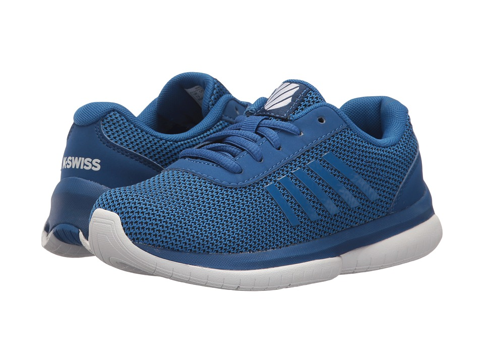 K-Swiss Kids - Tubes Infinity (Little Kid) (Classic Blue/White) Kids Shoes
