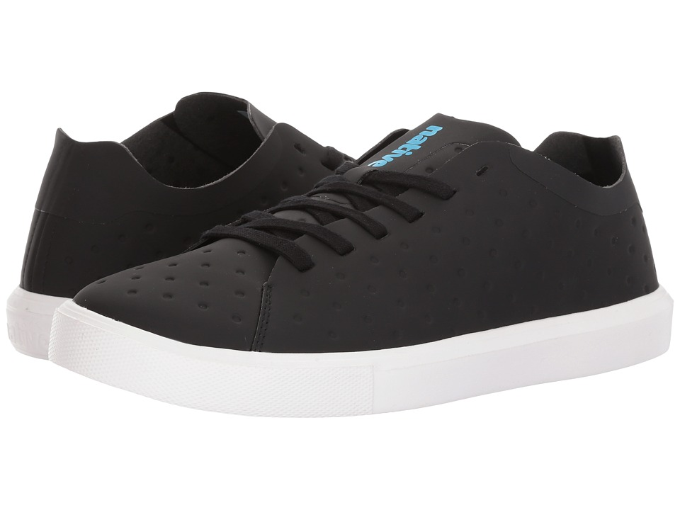 Native Shoes Monaco Low (Jiffy Black CT/Shell White) Lace up casual Shoes