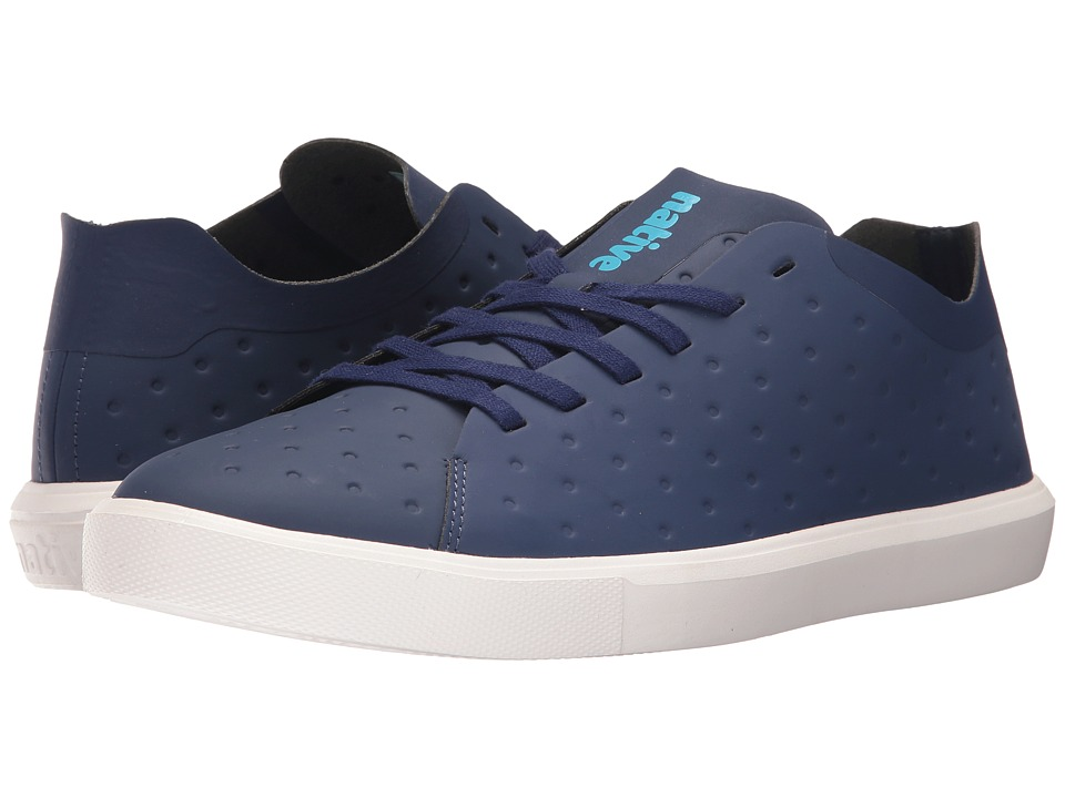 Native Shoes Monaco Low (Regatta Blue CT/Shell White) Lace up casual Shoes