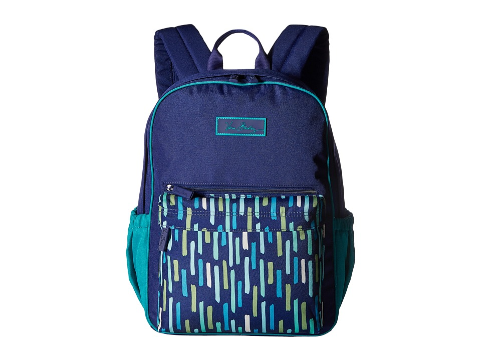 Vera Bradley - Small Color Block Backpack (Katalina Showers) Backpack Bags