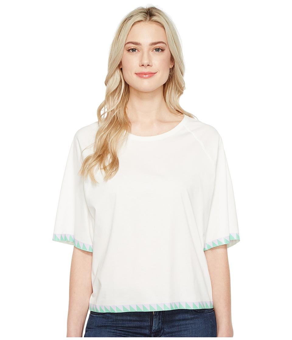Diesel - T-Bren-Short-A T-Shirt (White) Women's T Shirt