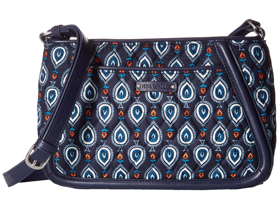 Vera Bradley - Trimmed Trapeze Crossbody (Marrakesh Motifs) Cross Body Handbags