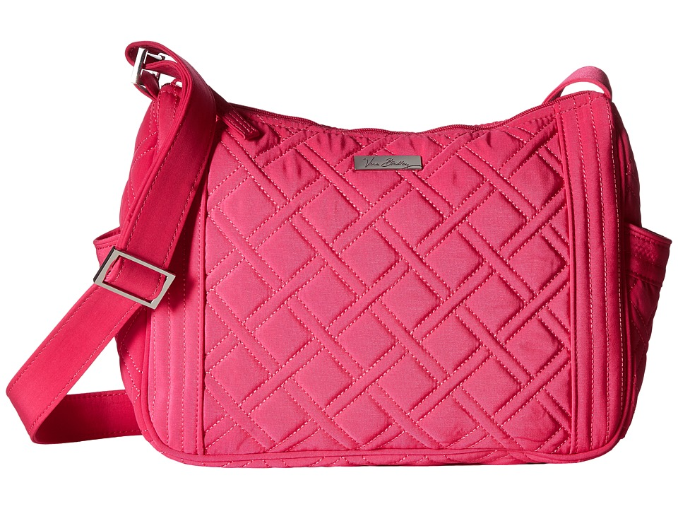 Vera Bradley - On the Go Crossbody (Fuchsia) Cross Body Handbags