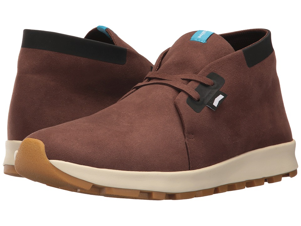 Native Shoes Apollo Chukka Hydro (Howler Brown/Jiffy Black/Bone White/Natural Rubber) Lace up casual Shoes