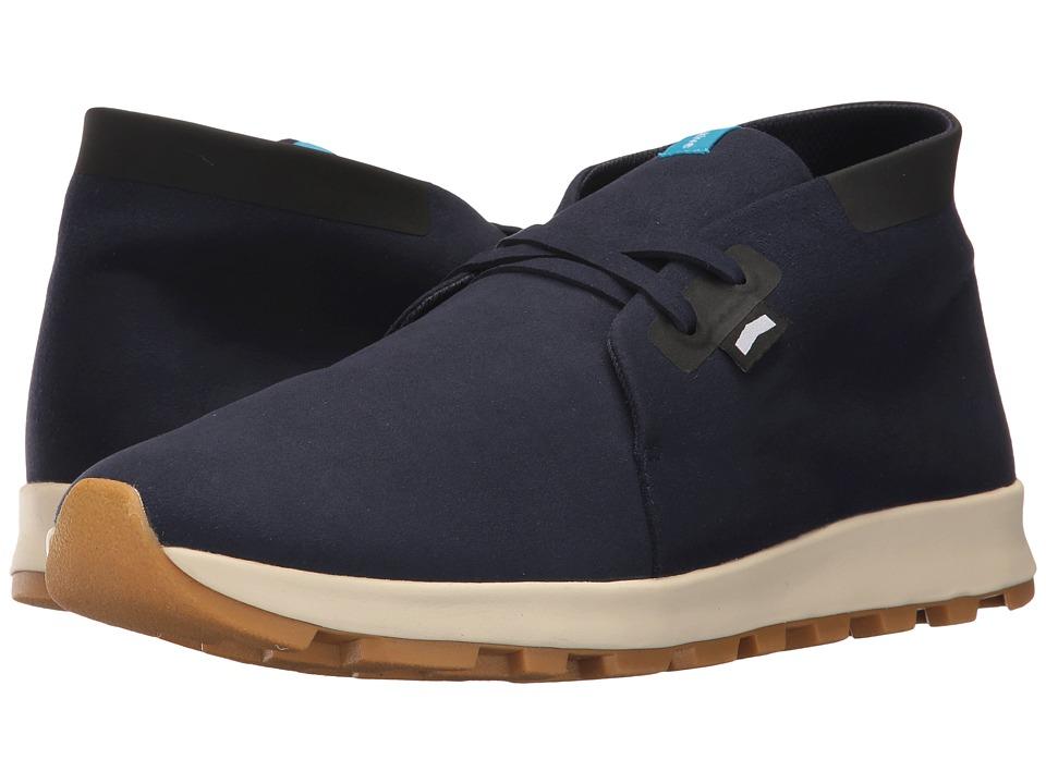 Native Shoes Apollo Chukka Hydro (Regatta Blue/Jiffy Black/Bone White/Natural Rubber) Lace up casual Shoes