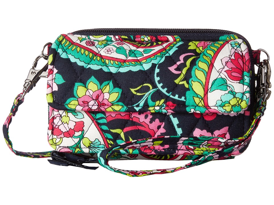 Vera Bradley - All-In-One Crossbody (Petal Paisley) Cross Body Handbags