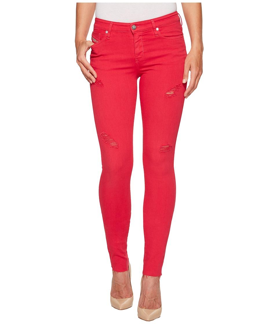 Diesel - Skinzee L.32 Trousers 84EX (Pink) Women's Jeans