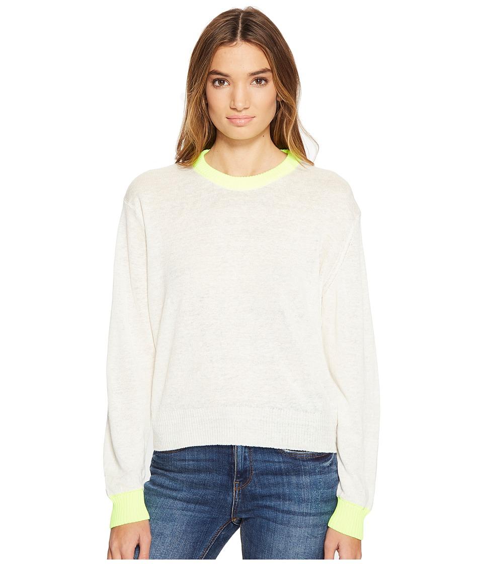 Diesel - M-Gala Pullover (Ivory) Women's Long Sleeve Pullover