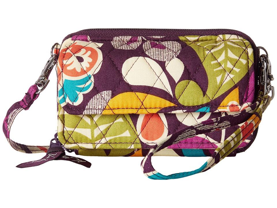 Vera Bradley - Smartphone Wristlet (Plum Crazy) Wristlet Handbags