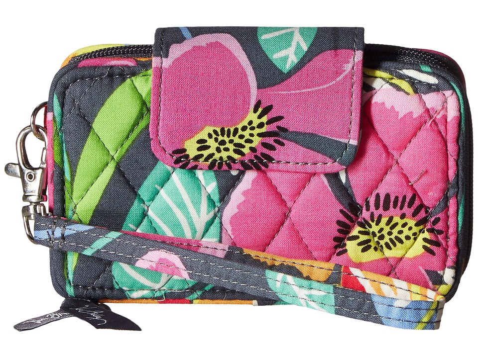 Vera Bradley - Smartphone Wristlet (Jazzy Blooms) Wristlet Handbags