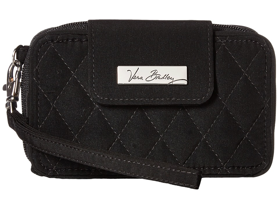 Vera Bradley - Smartphone Wristlet (Classic Black) Wristlet Handbags