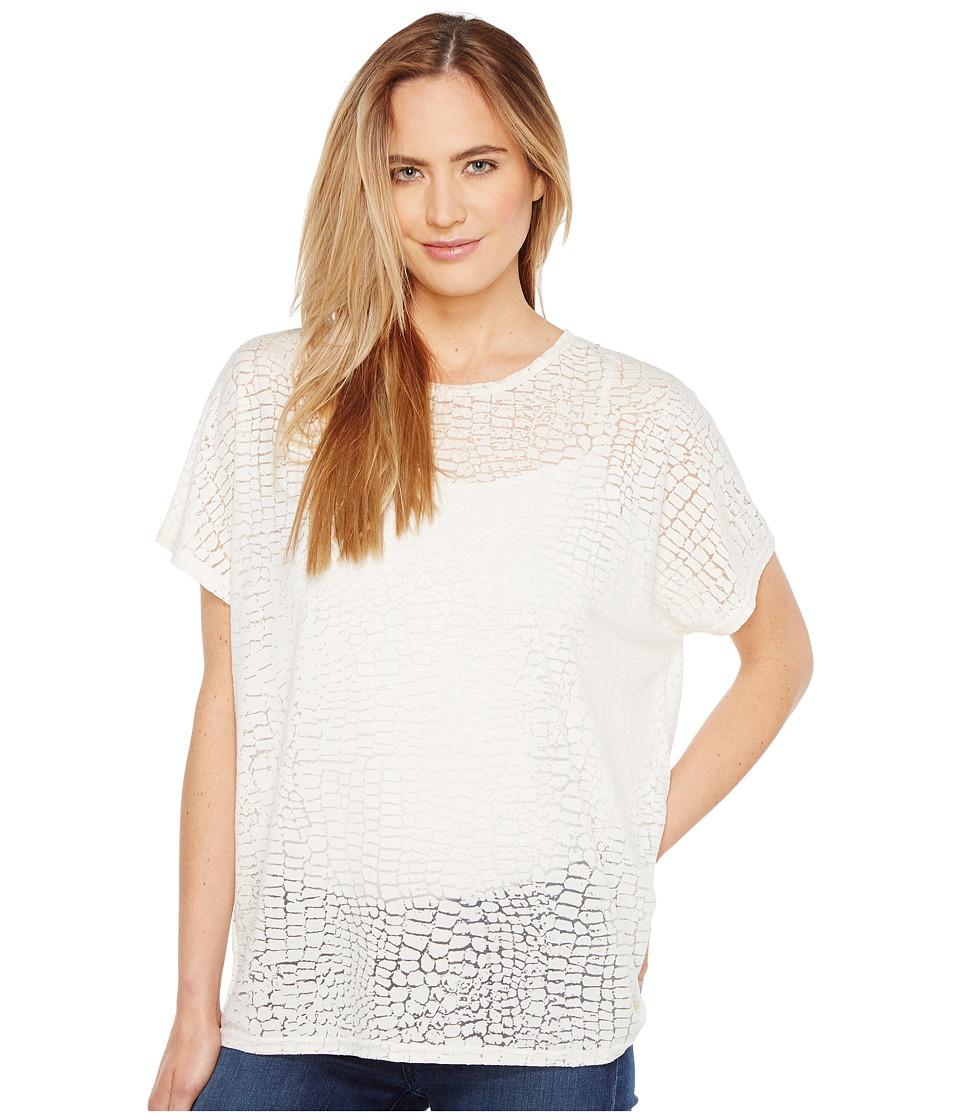 Diesel - T-Hanna-AB T-Shirt (White) Women's T Shirt
