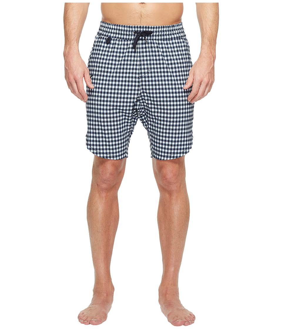 Publish - Reuben Swim Shorts (Navy) Men's Shorts