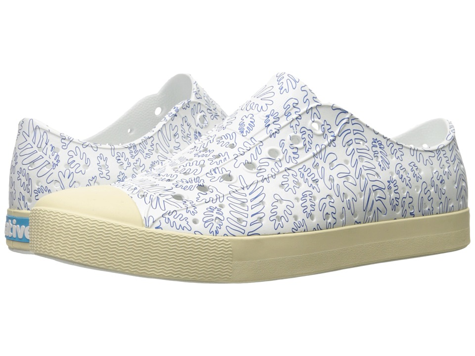 Native Shoes - Jefferson (Shell White/Bone White/Matease Print) Shoes