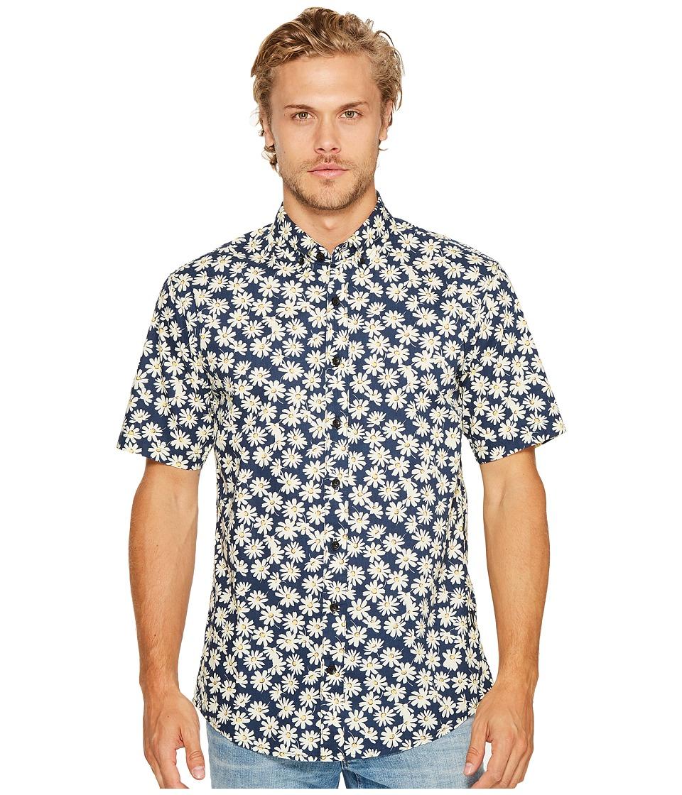 Publish - Aleks Button Down Shirt (Navy) Men's Long Sleeve Button Up