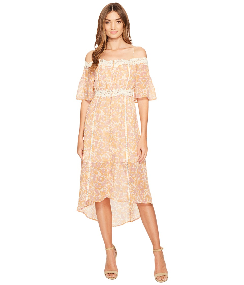 ASTR the Label - Simone Dress (Pink/Amber Floral) Women's Dress