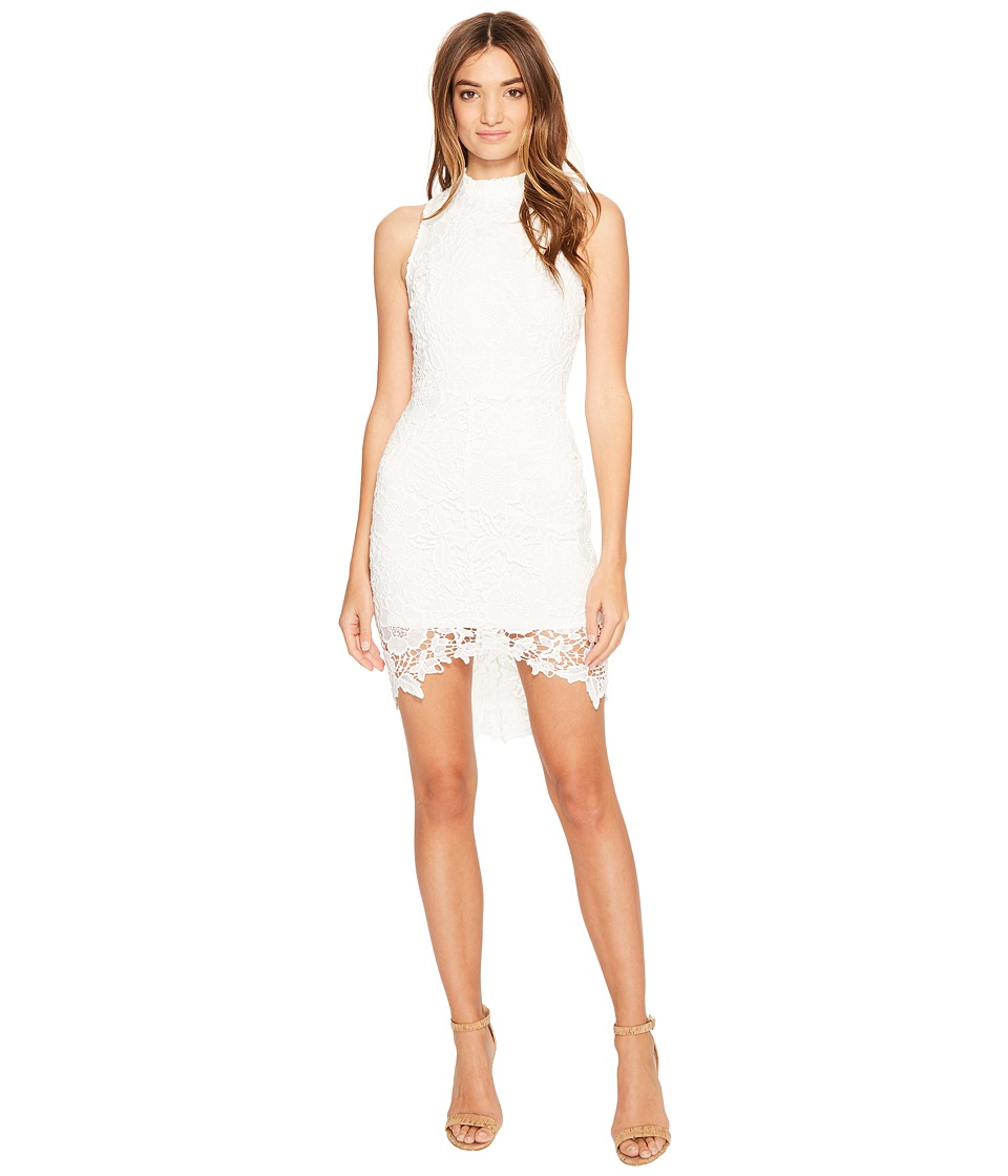 ASTR the Label - Samantha Lace Dress (White) Women's Dress