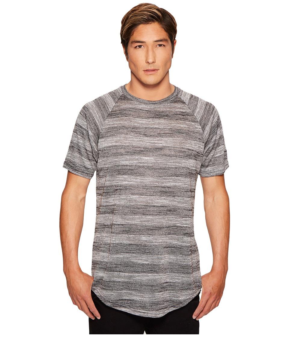 Publish - Koner Raglan Knit T-Shirt (Black) Men's T Shirt