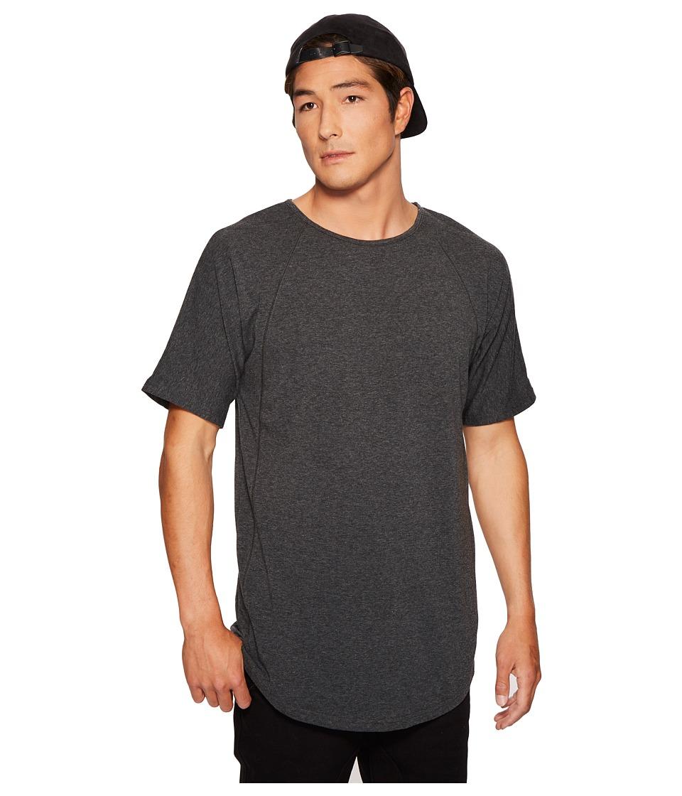 Publish - Finnt Raglan T-Shirt (Charcoal) Men's T Shirt
