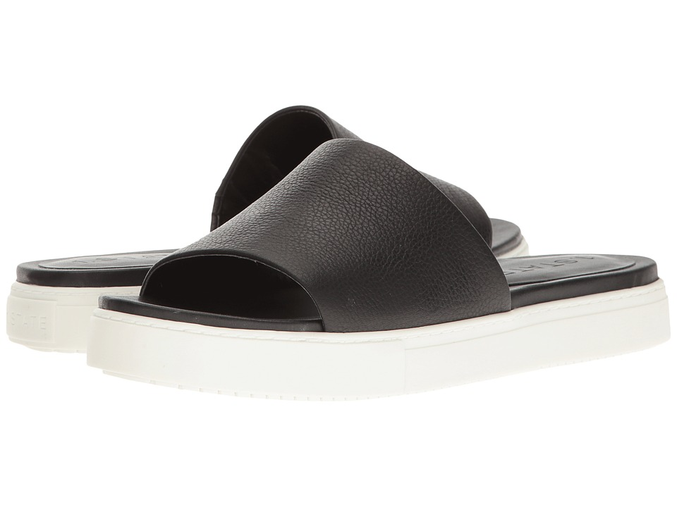 1.STATE - Joaquin (Black) Women's Slide Shoes