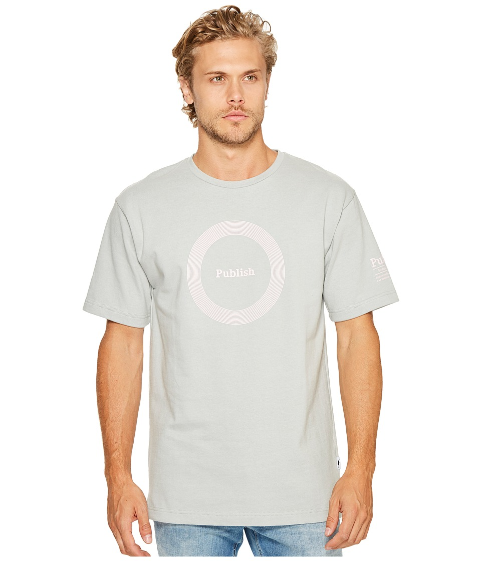 Publish Publish Sounds Print T-Shirt (Heather) Men