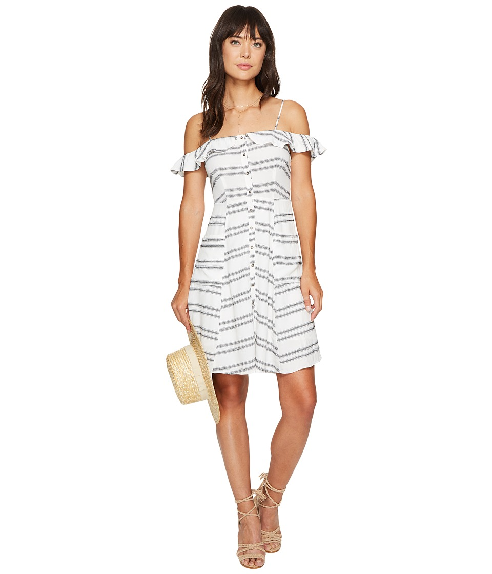 ASTR the Label Ramona Dress (Black Double Stripe) Women