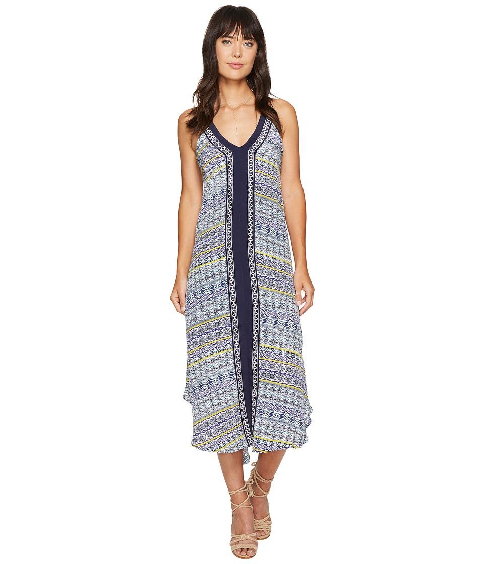 ASTR the Label - Frida Dress (Navy Multi Medallion) Women's Dress