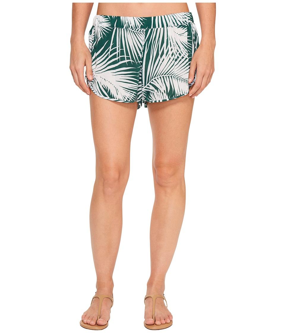 MIKOH SWIMWEAR - Saint Pierre Short (Botanical Forest) Women's Swimwear