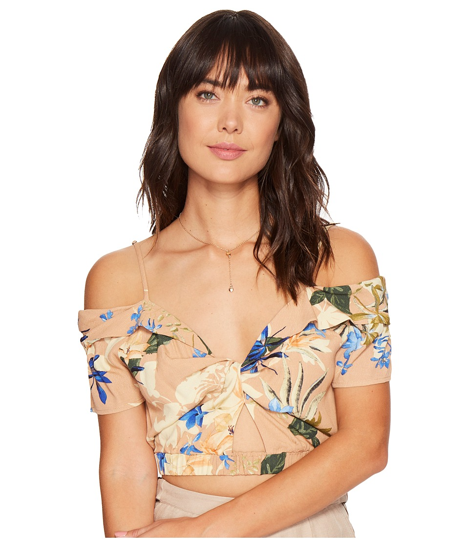 ASTR the Label - Clementine Top (Paradise Floral) Women's Clothing