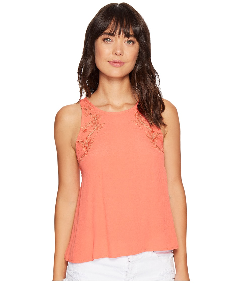 ASTR the Label - Alaine Top (Hot Coral) Women's Clothing