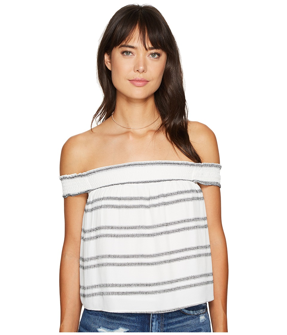 ASTR the Label - Maite Top (Black Double Stripe) Women's Clothing