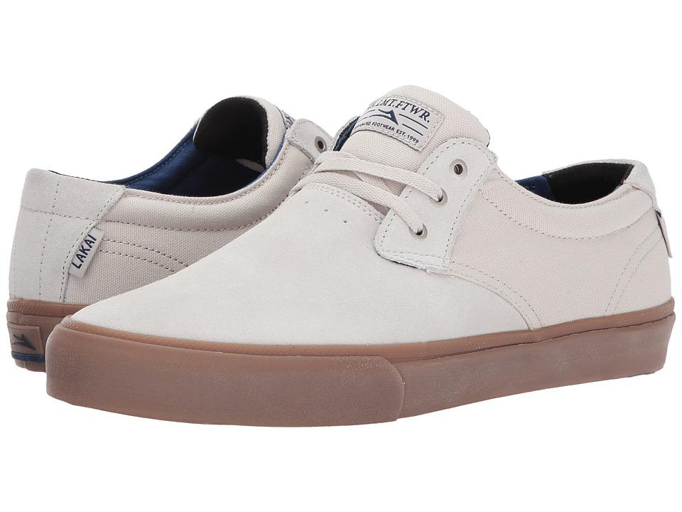 Lakai - Daly (White Suede) Men's Shoes