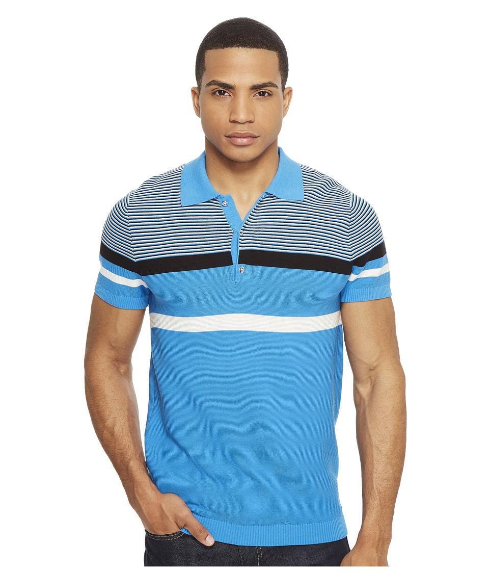 Diesel - K-Cortez Polo (Mediterranian Blue) Men's Short Sleeve Pullover