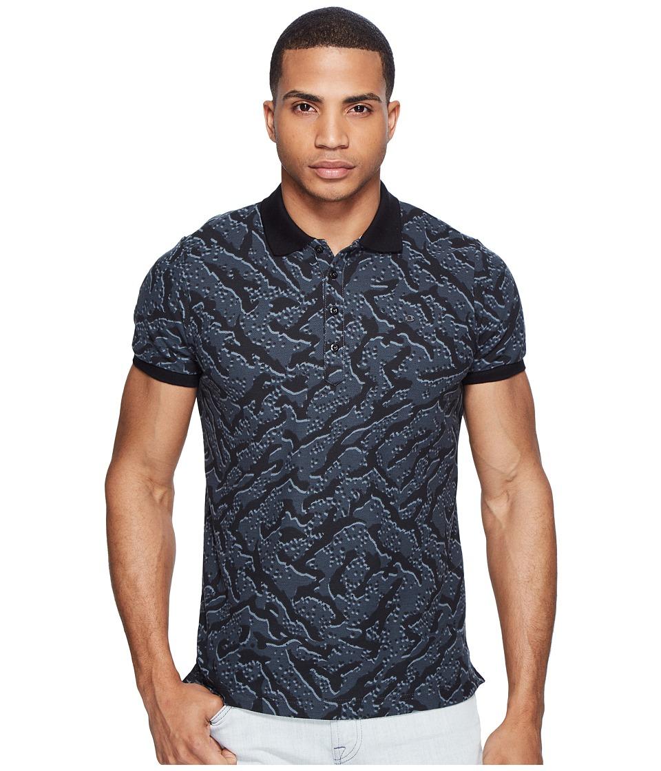 Diesel - T-Kain Polo (Grey) Men's Short Sleeve Pullover