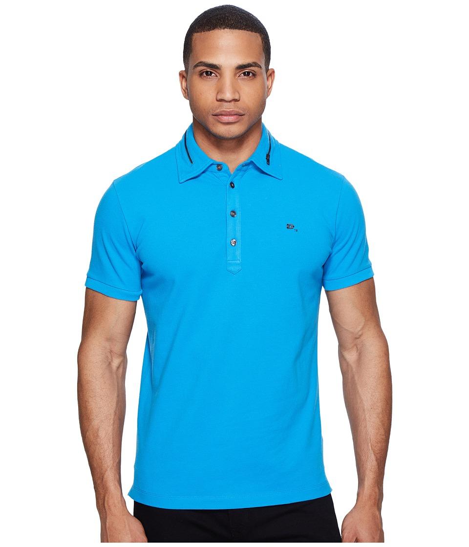 Diesel - T-Klark Polo (Mediterranean Blue) Men's Short Sleeve Pullover