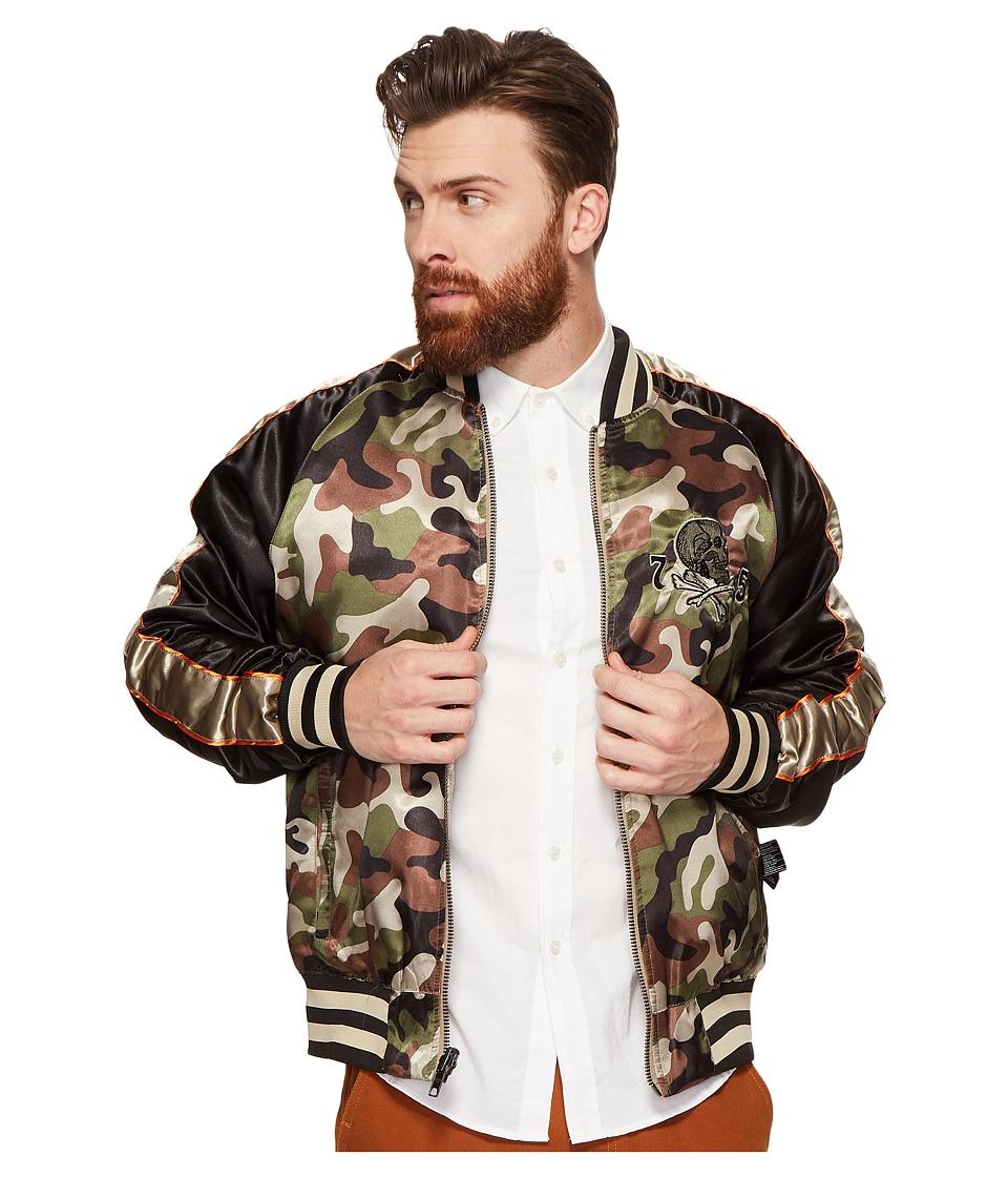 Members Only - Reversible Souvenir Jacket (Camo) Men's Coat