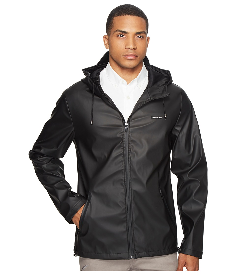 Members Only - Storm Jacket (Black) Men's Coat