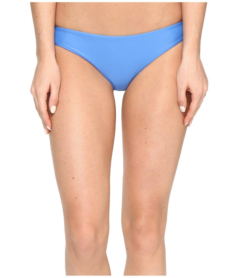 RVCA Solid Cheeky Bottom (Cerulean) Women