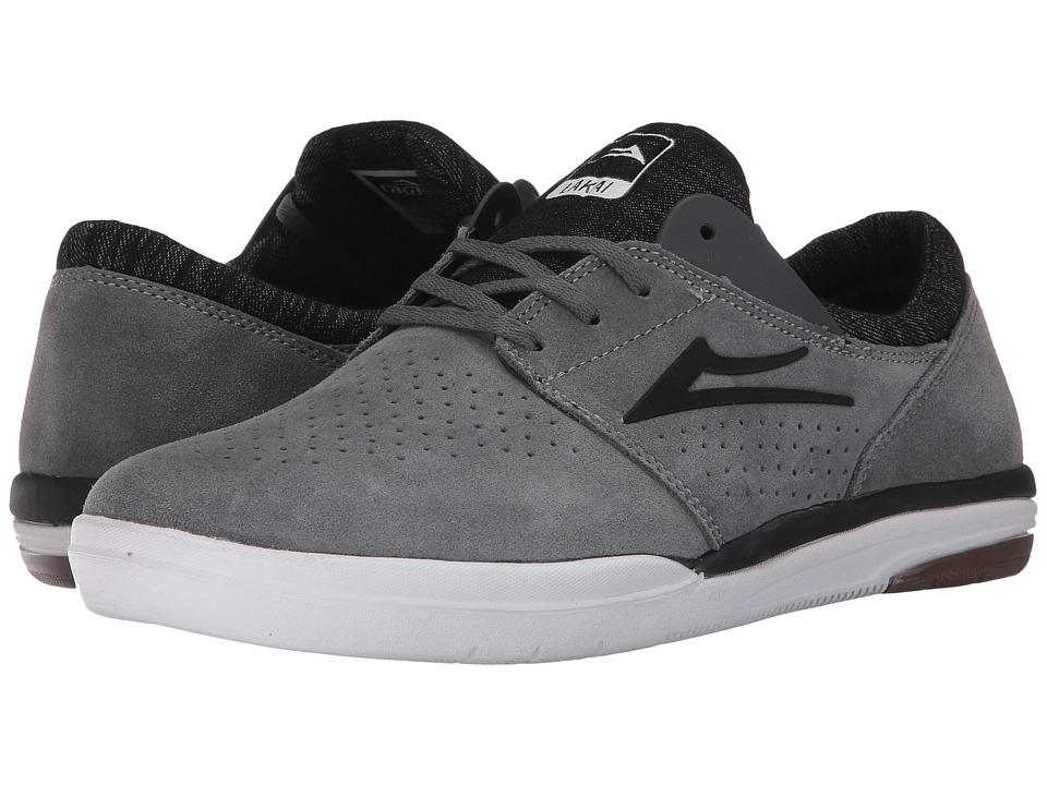 Lakai - Fremont (Red Suede) Men's Skate Shoes