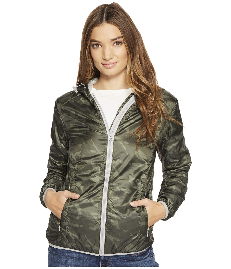 Members Only - Windy City Racer (Camo) Women's Coat