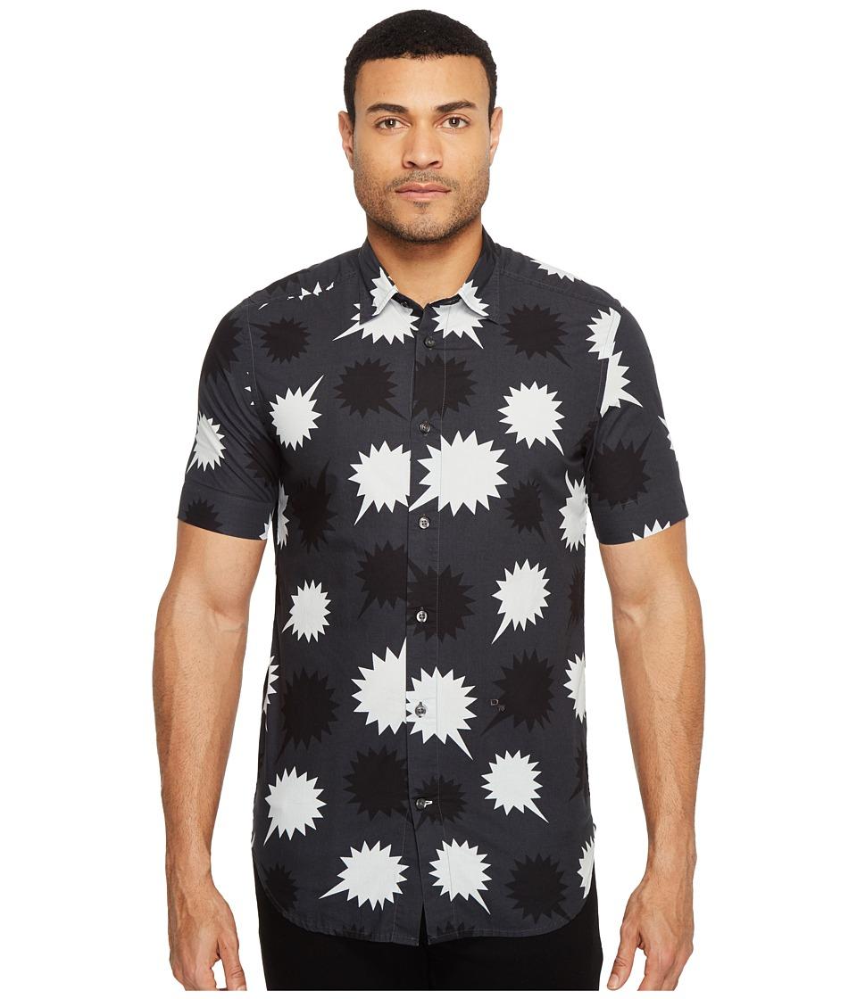 Diesel - S-Willie Shirt (Black) Men's Clothing