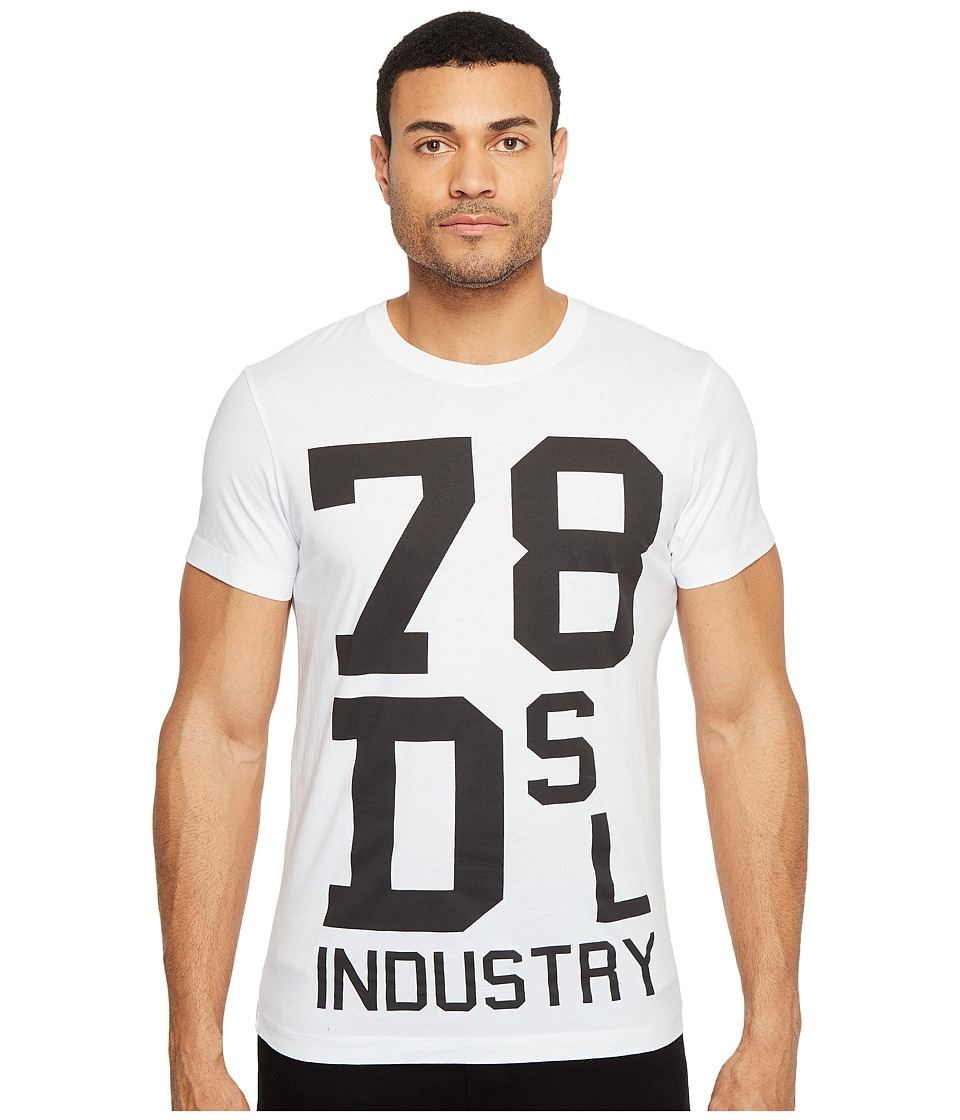 Diesel - T-Diego-ND T-Shirt (White) Men's T Shirt