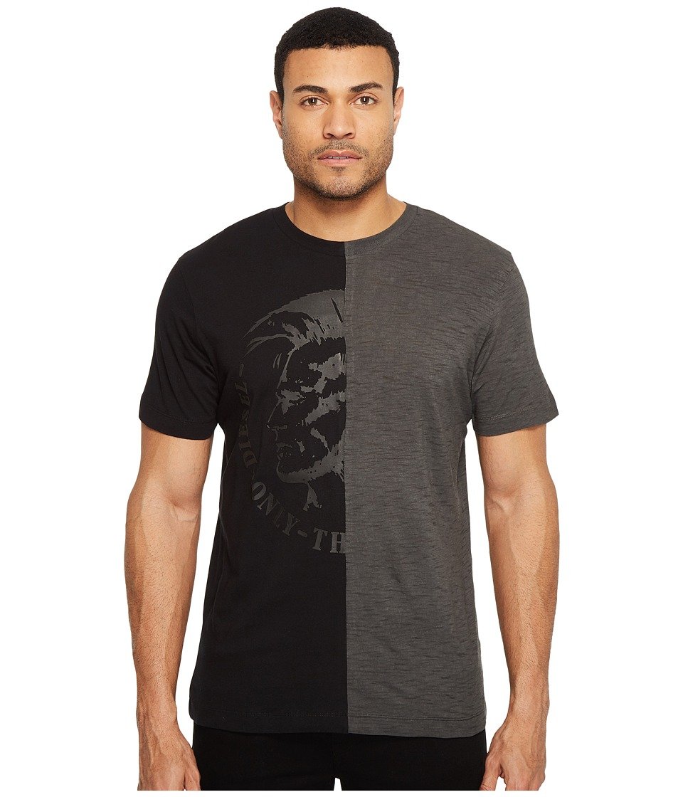 Diesel - T-Joe-NX T-Shirt (Black) Men's T Shirt