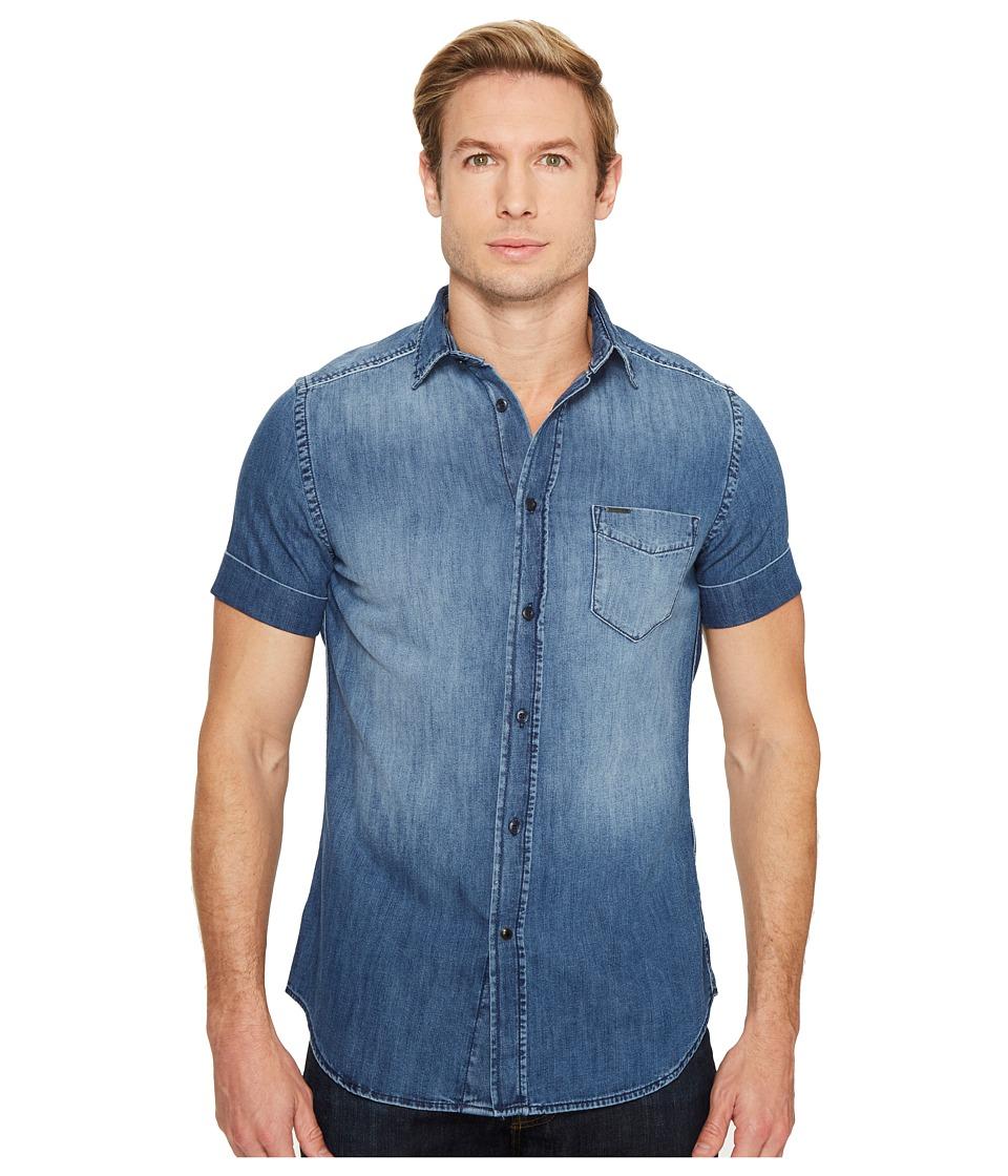 Diesel - D-Kendall Shirt (Denim) Men's Clothing