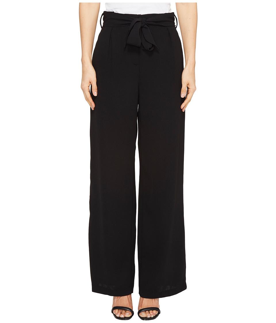 XOXO - Paper Bag Waist Pants (Black 8) Women's Casual Pants