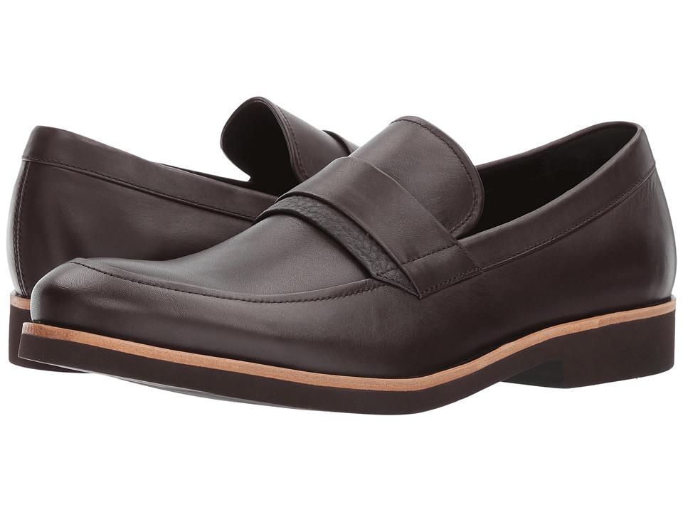 Calvin Klein Forbes (Dark Brown Dress Calf) Men