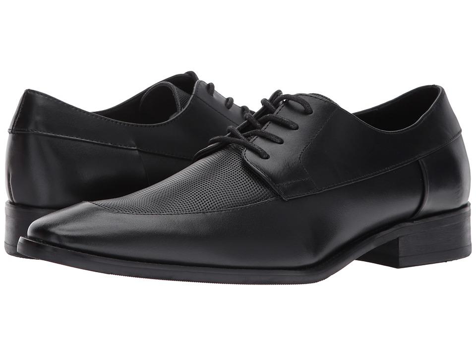 Calvin Klein - Rambert (Black Brushed Leather) Men's Shoes