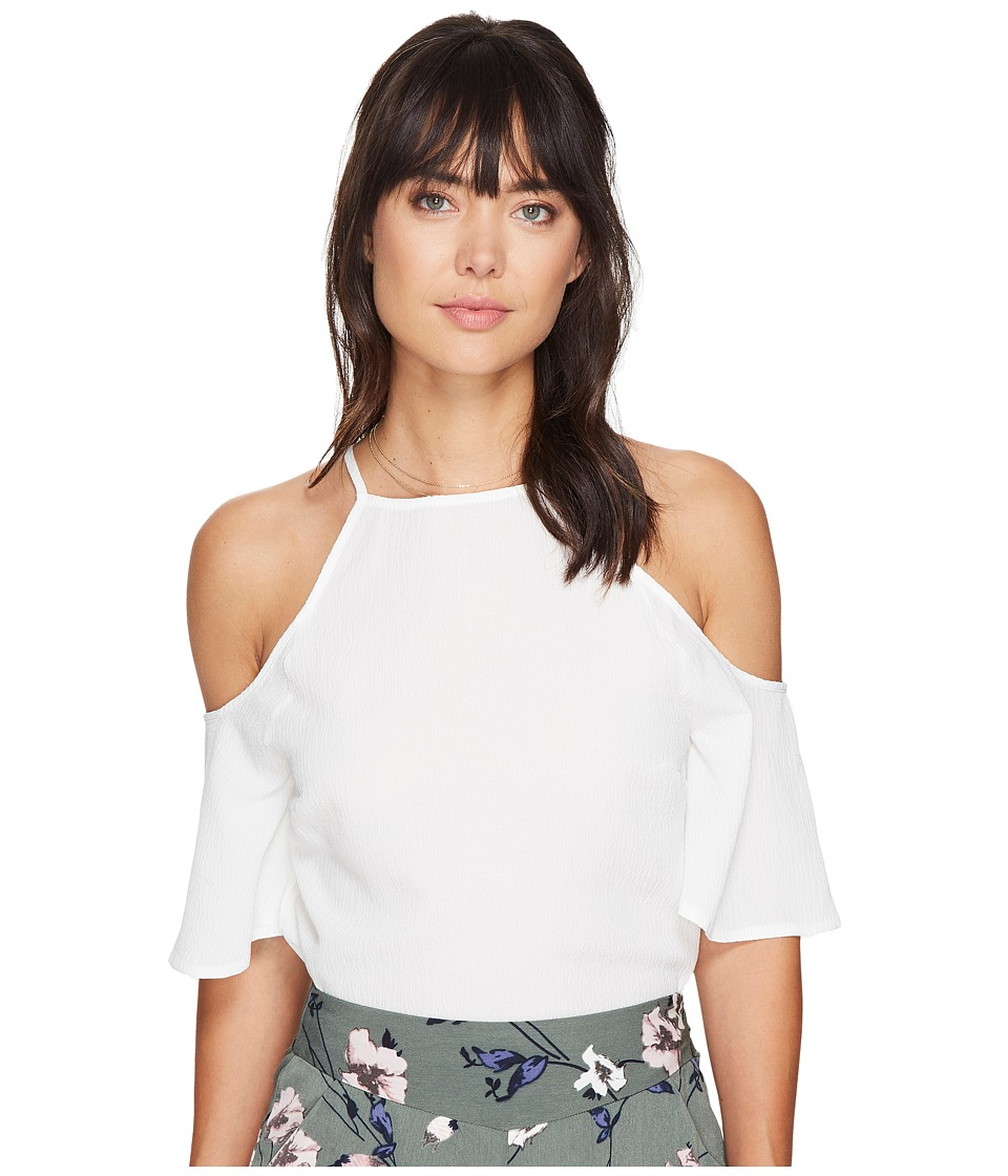Bishop + Young - Ava Cold Shoulder (Ivory) Women's Clothing