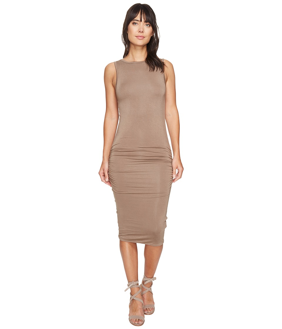 Bishop + Young - Mia Dress (Taupe) Women's Dress