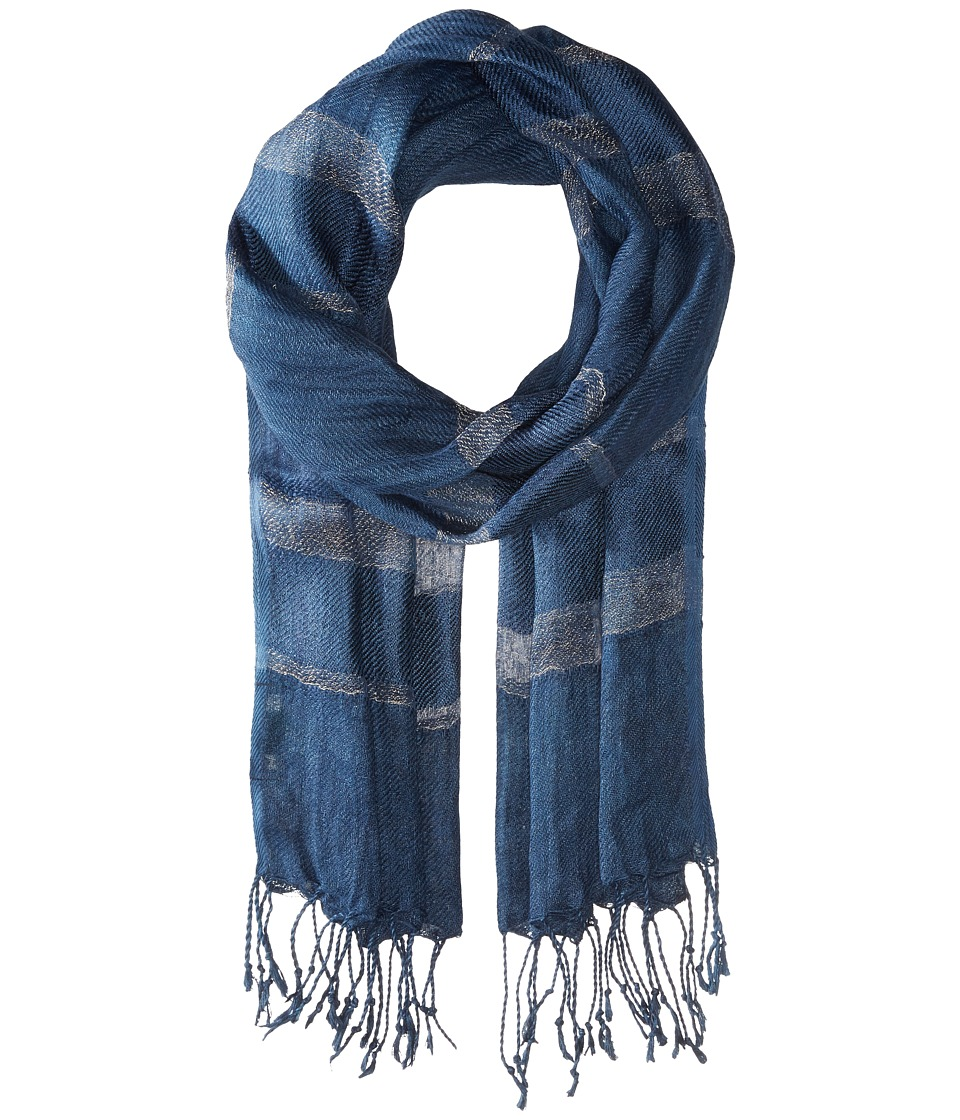 LAUREN Ralph Lauren - Norah Wrap (Channel Blue) Scarves